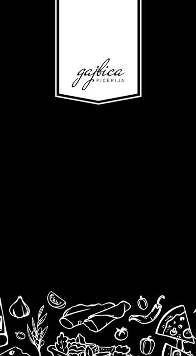 Picerija Gajbica - oglej si jedilni lis